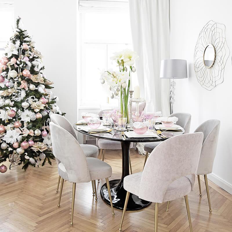 Christianes elegante Weihnachtstafel