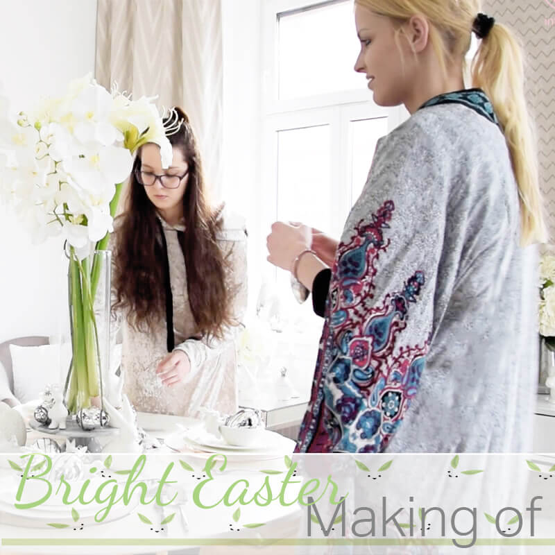 Neues YouTube-Video: Bright Easter Making Of