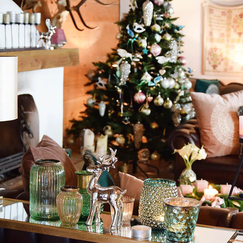 Rosa & Grün - Weihnachten im Landhausstil