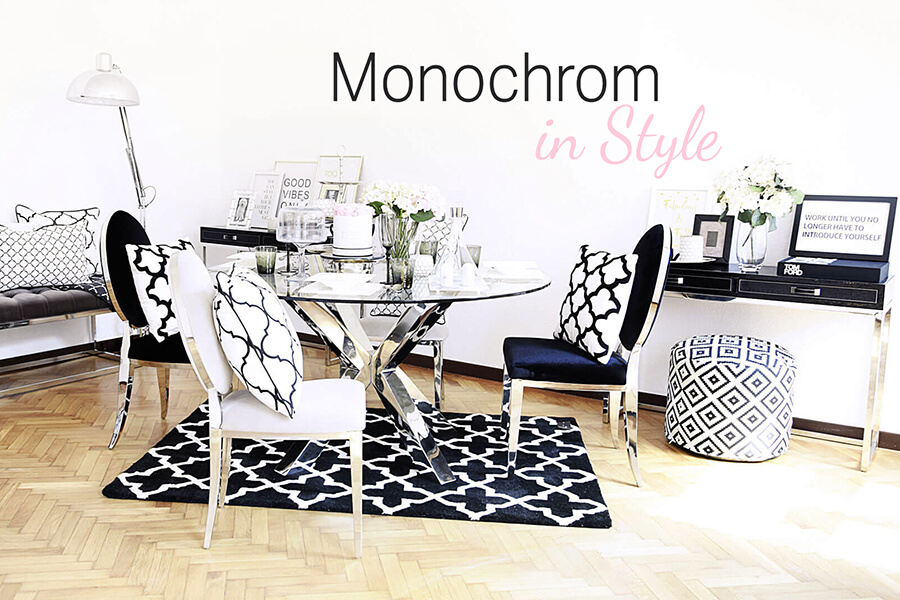 Monochrom in Style