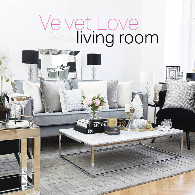 New Year - New Look! Velvet Love Wohnzimmer