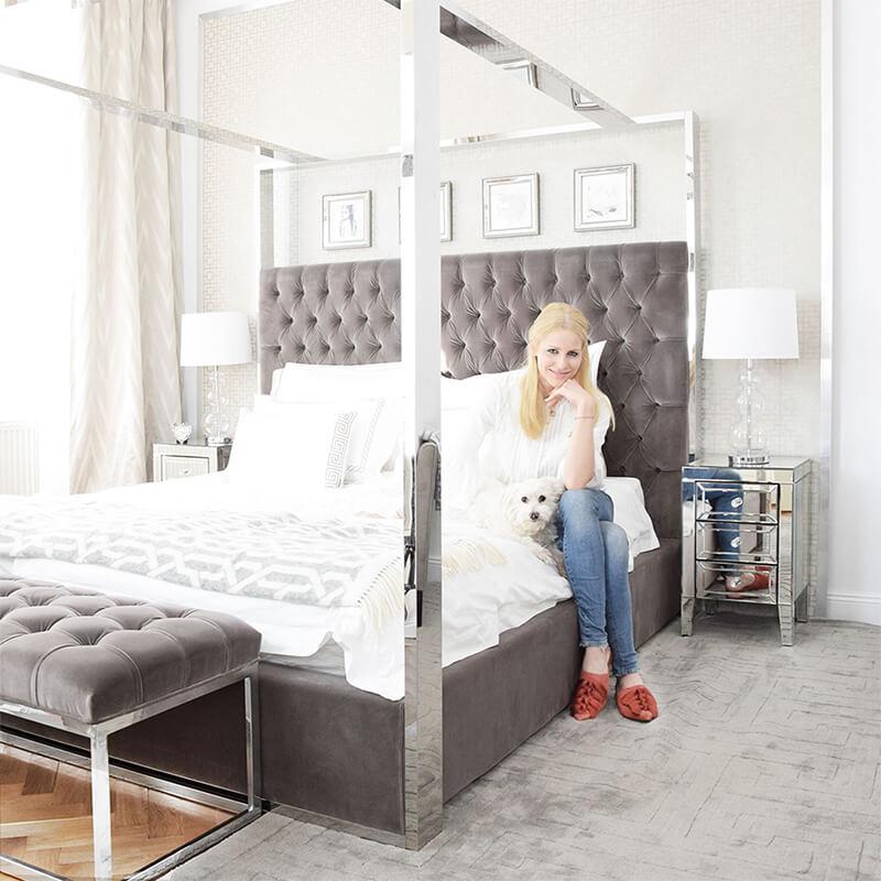 Christianes Schlafzimmer: Ein luxuriöses Kuschelnest