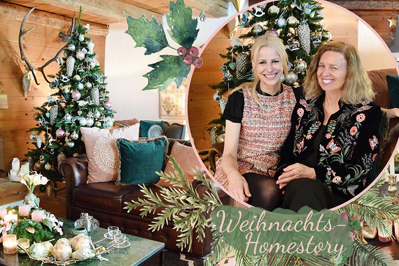 Homestory! Chalet im Weihnachtslook