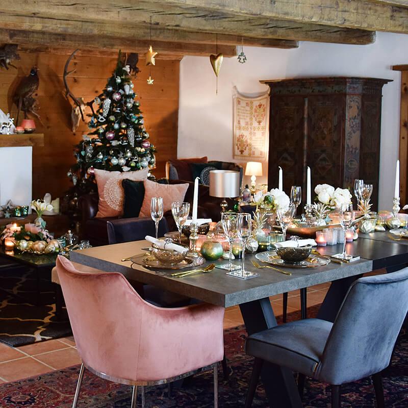 Die Weihnachtstafel - der Mittelpunkt eines gelungenen Festes