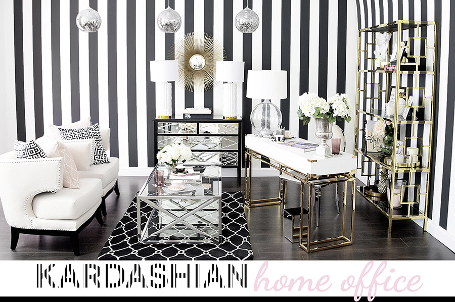 Kardashian home office