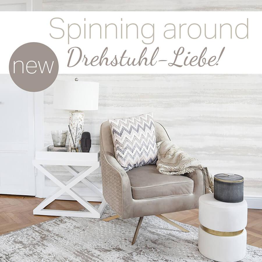 Spinning around - Drehstuhl Liebe!
