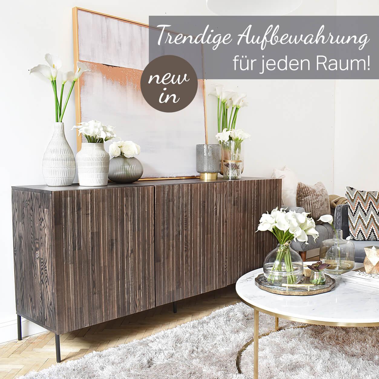 Sideboards, Bücherregale & Media-Lowboards: Trendige Aufbewahrungsmöbel!