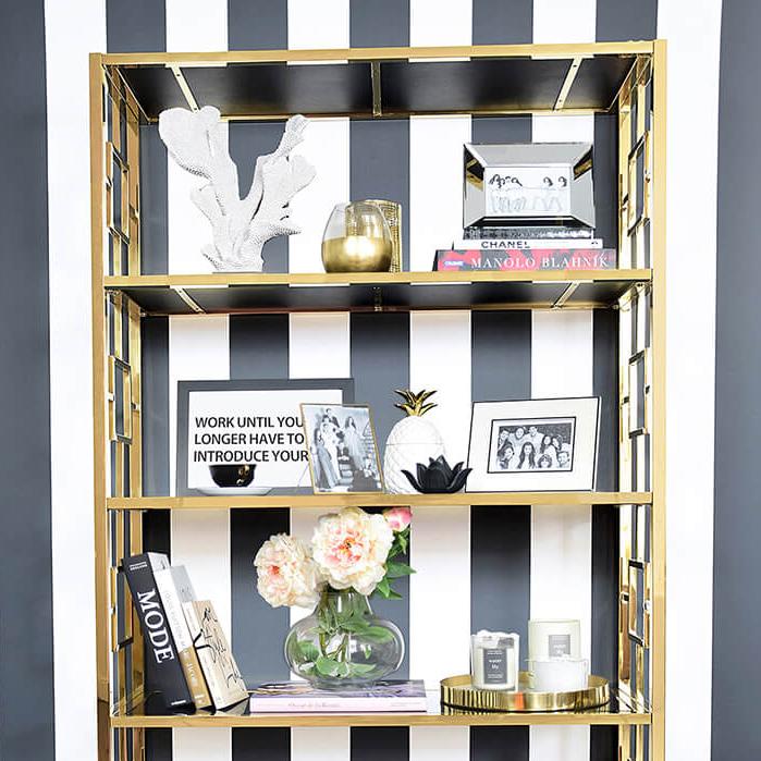 Bücherregal im Art-Deco-Style