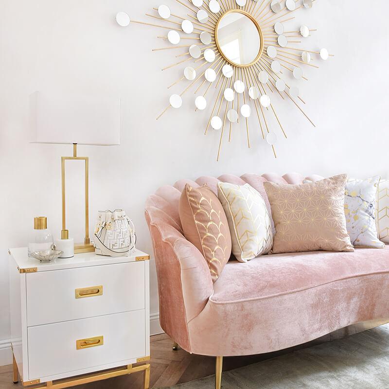 Traumkombi muschelförmiges Sofa
