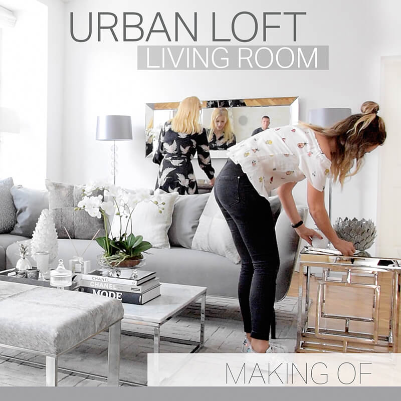 Making Of Video - Urban Loft Living Room
