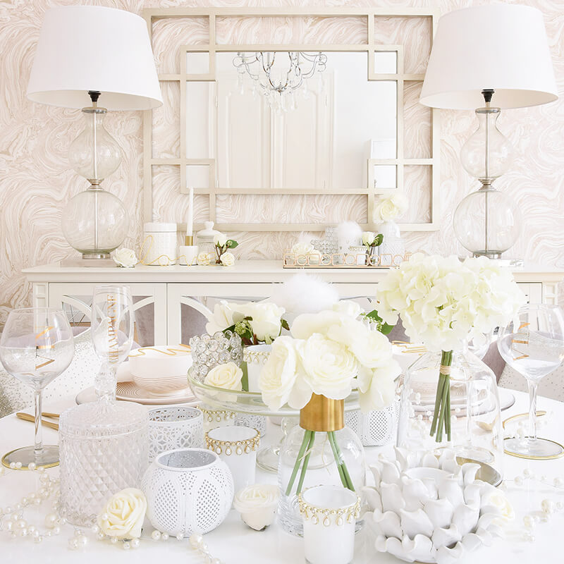 Romantic Wedding - Festliche Hochzeitstafel