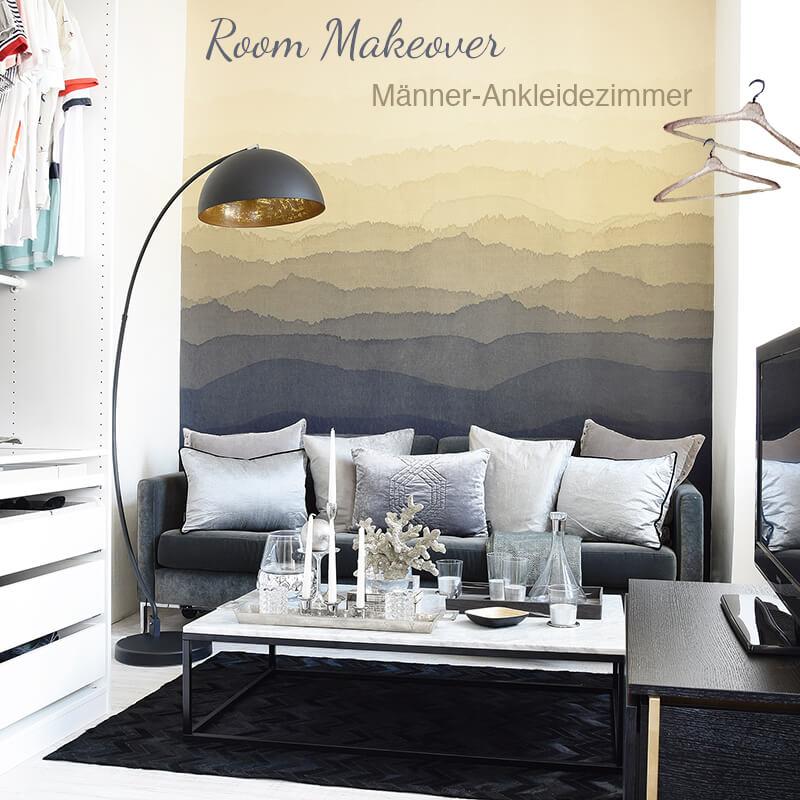 Neues Room Makeover! Männer-Ankleidezimmer