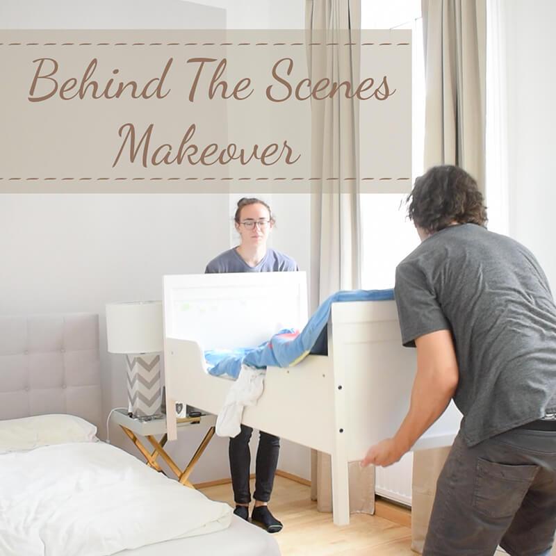 Behind the Scenes Video: Schlafzimmer Makeover