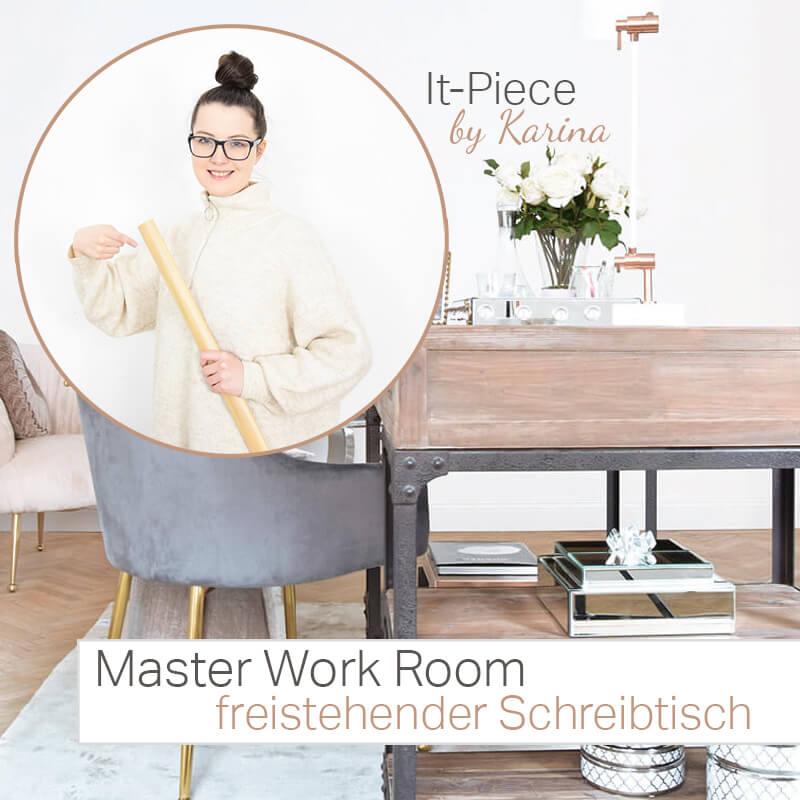 It-Piece freistehender Schreibtisch