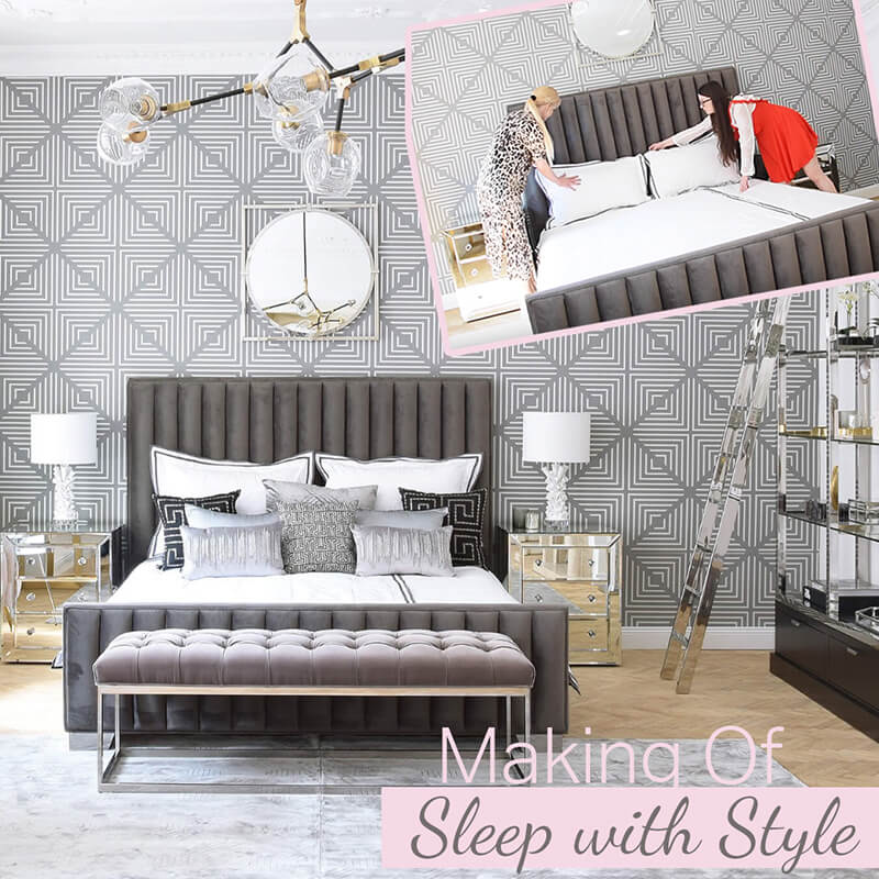 Making Of Video: Sleep with Style - Traumschlafzimmer in Grau