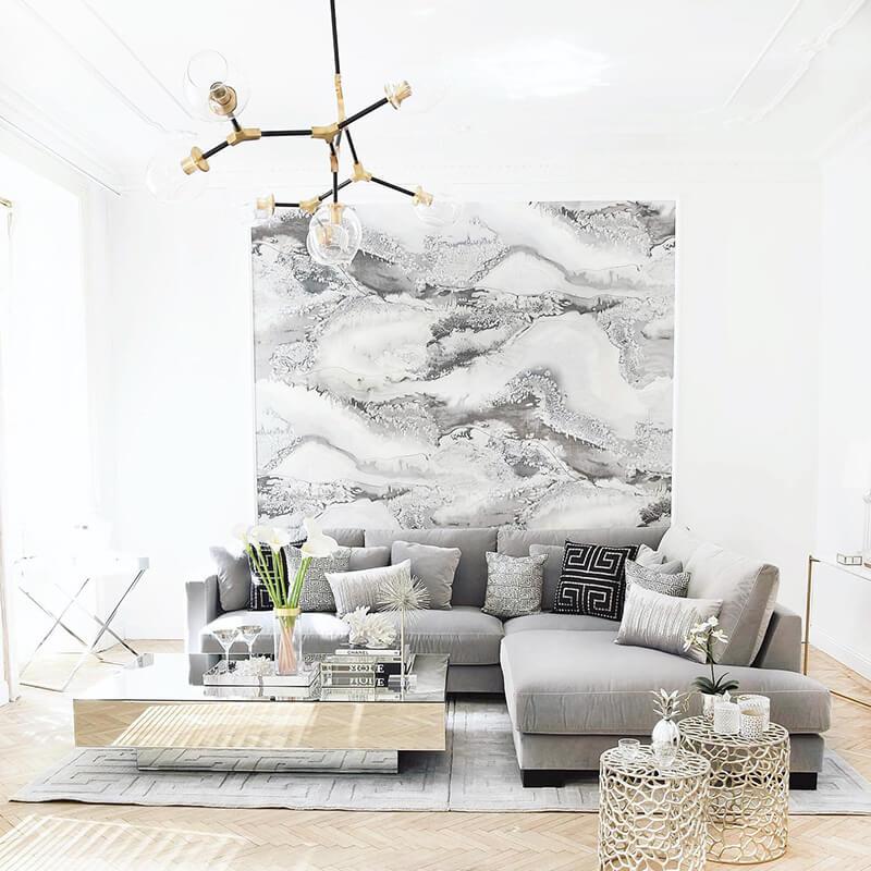 Grey Shades: Trend Wohnzimmer
