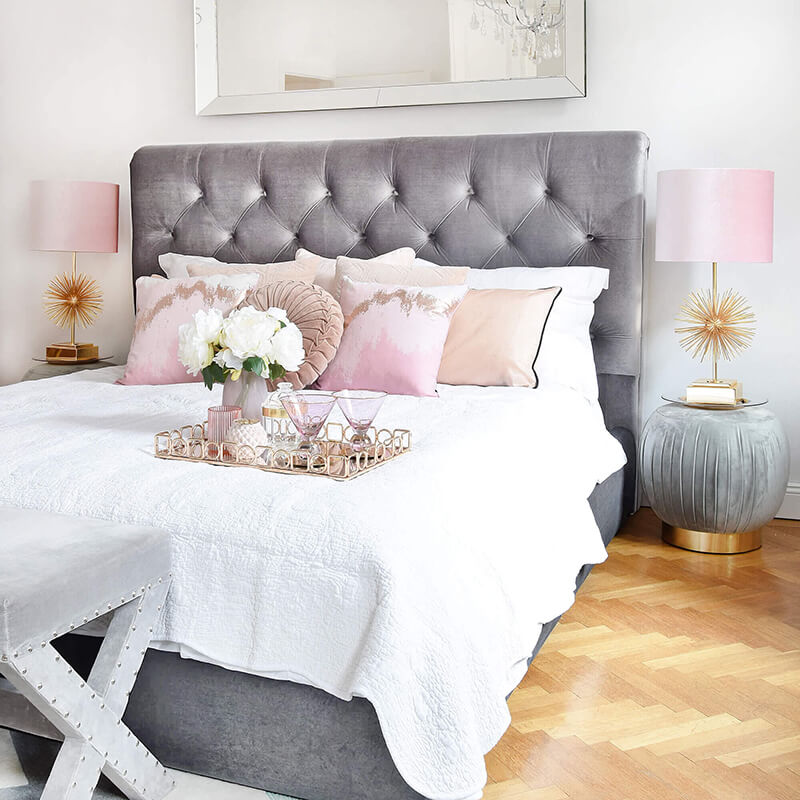Soft Blush Bedroom-Details