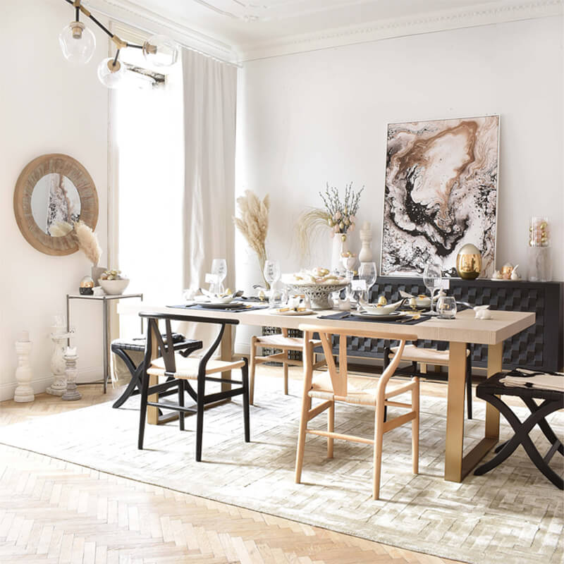 Dining Room Dream: Esszimmer in Naturtönen