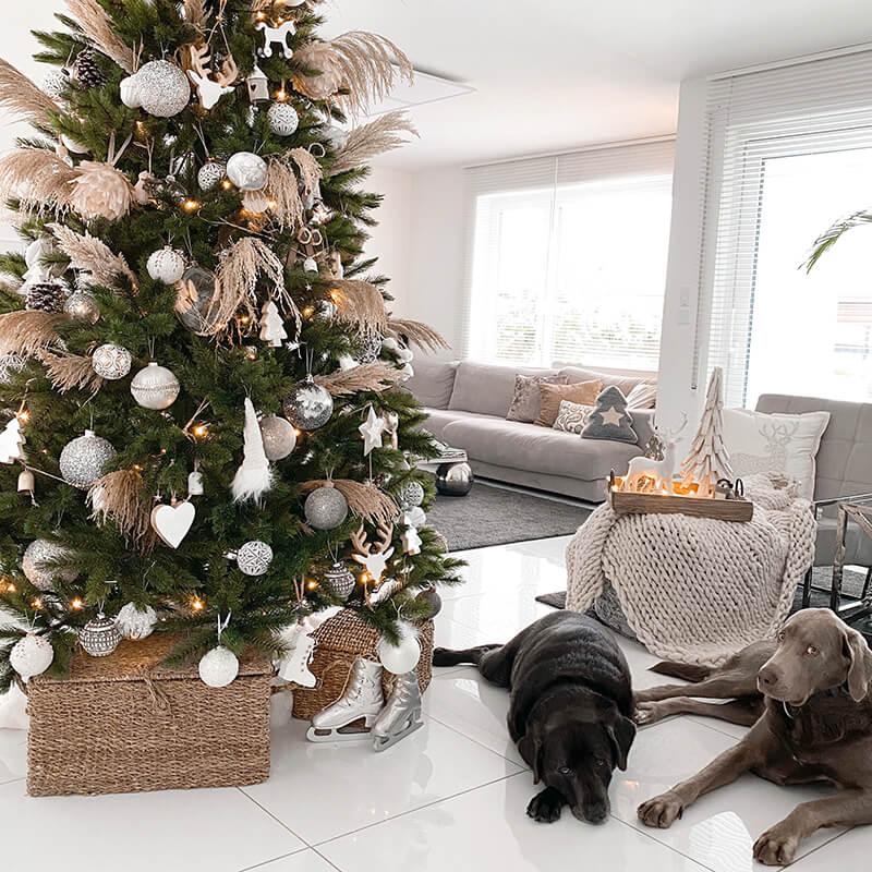 Tanja Cruz's zauberhafter Boho Weihnachtsbaum