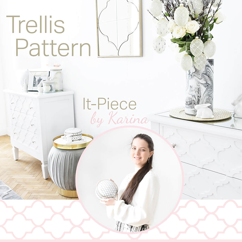 It-Piece Trellis Muster