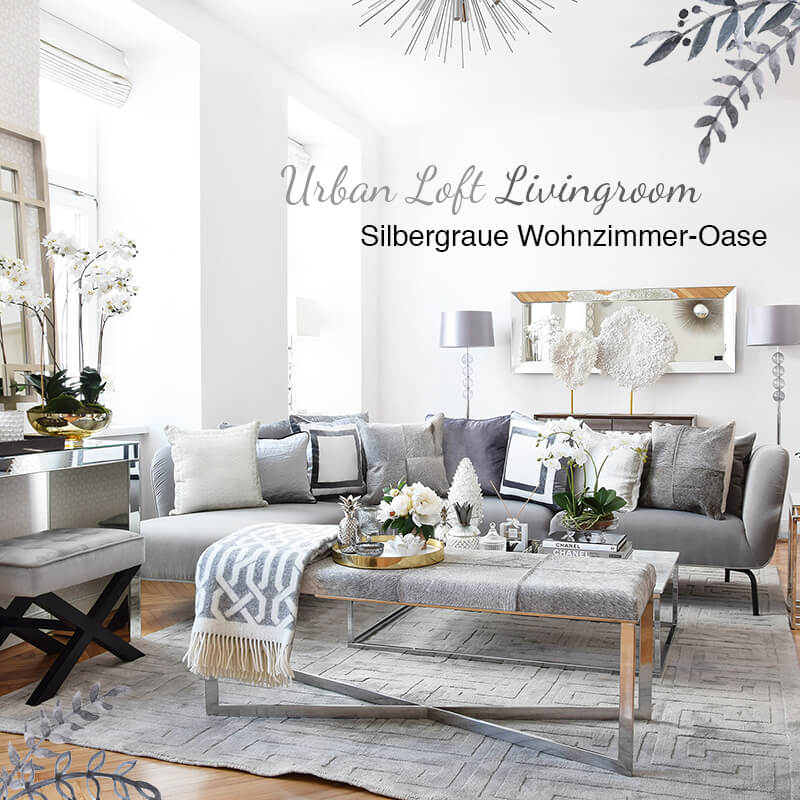 Neuer Look! Urban Loft Livingroom