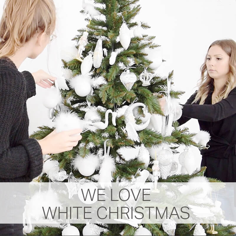 We love white Christmas!