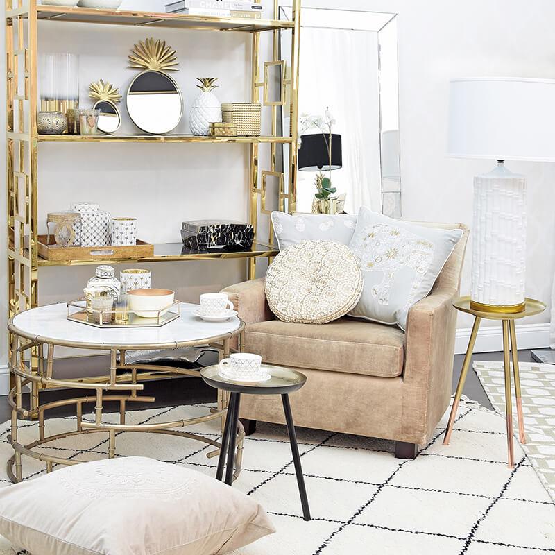 Neuer Look: Goldene Oase mit Art Deco-Flair