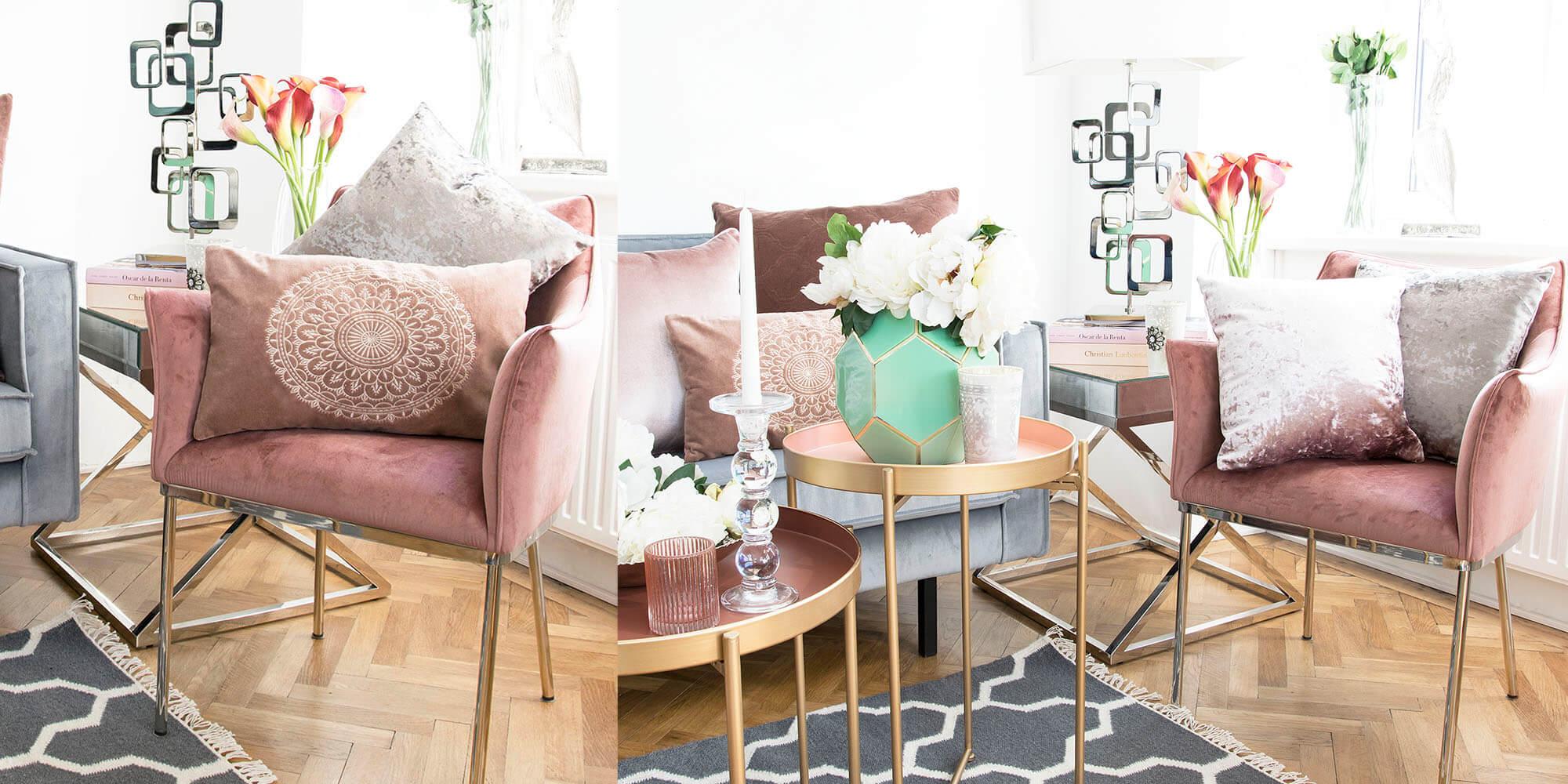 Cozy Corner in Pink!