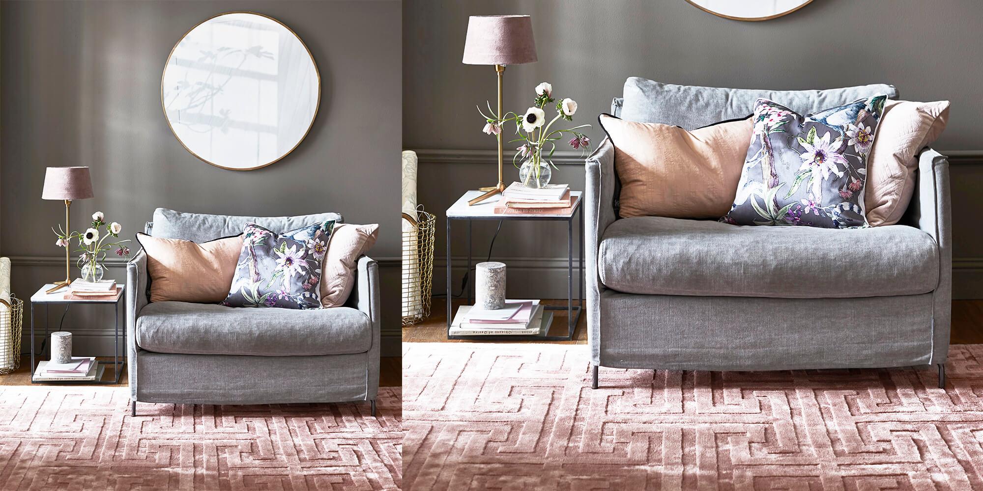 Samtig weich: unsere Teppiche :)