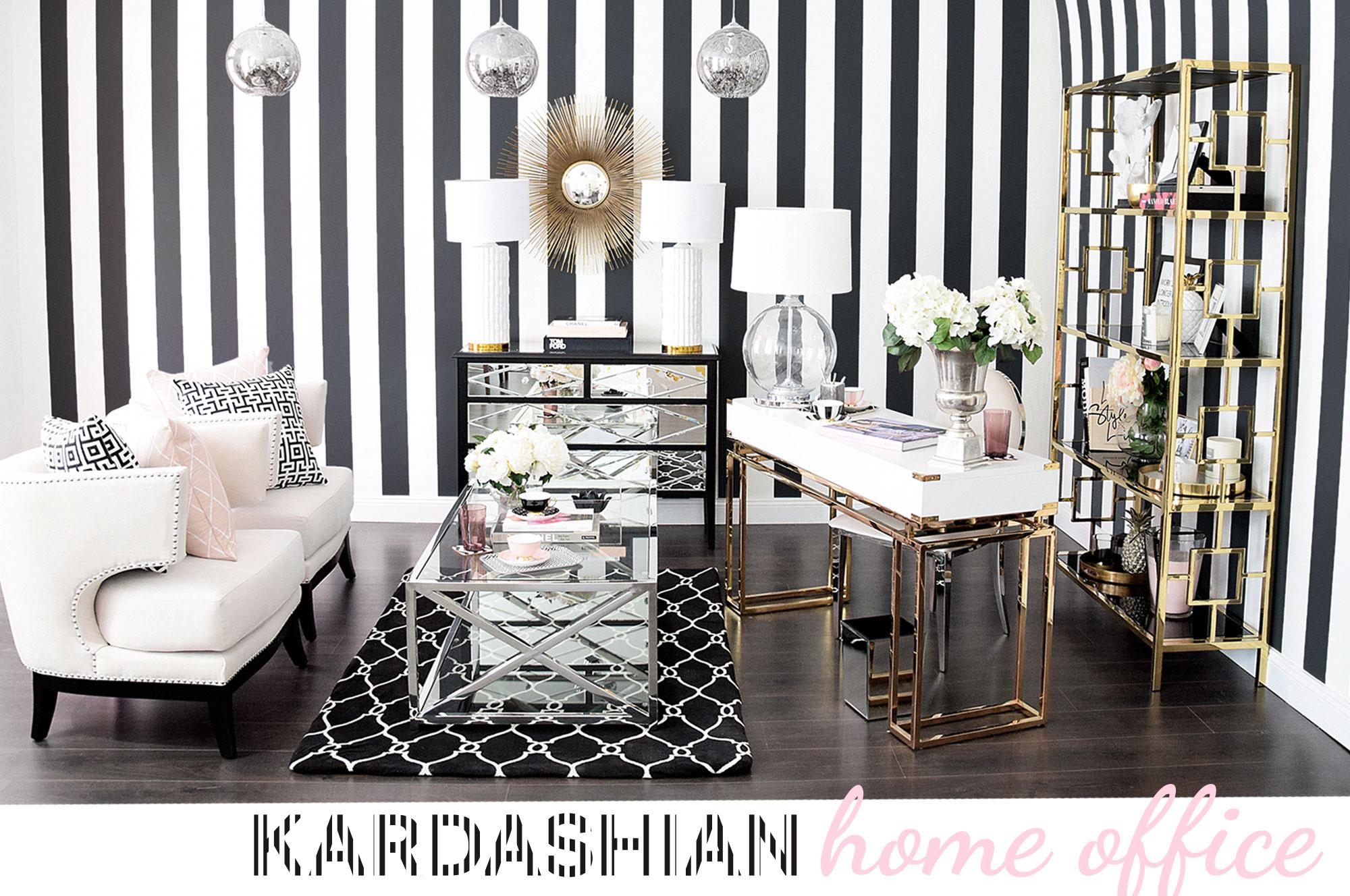 Kardashian home office