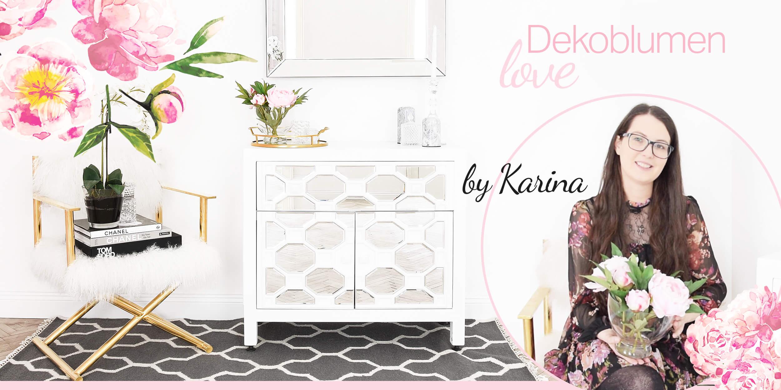 It-Piece Deko-Blumen Love