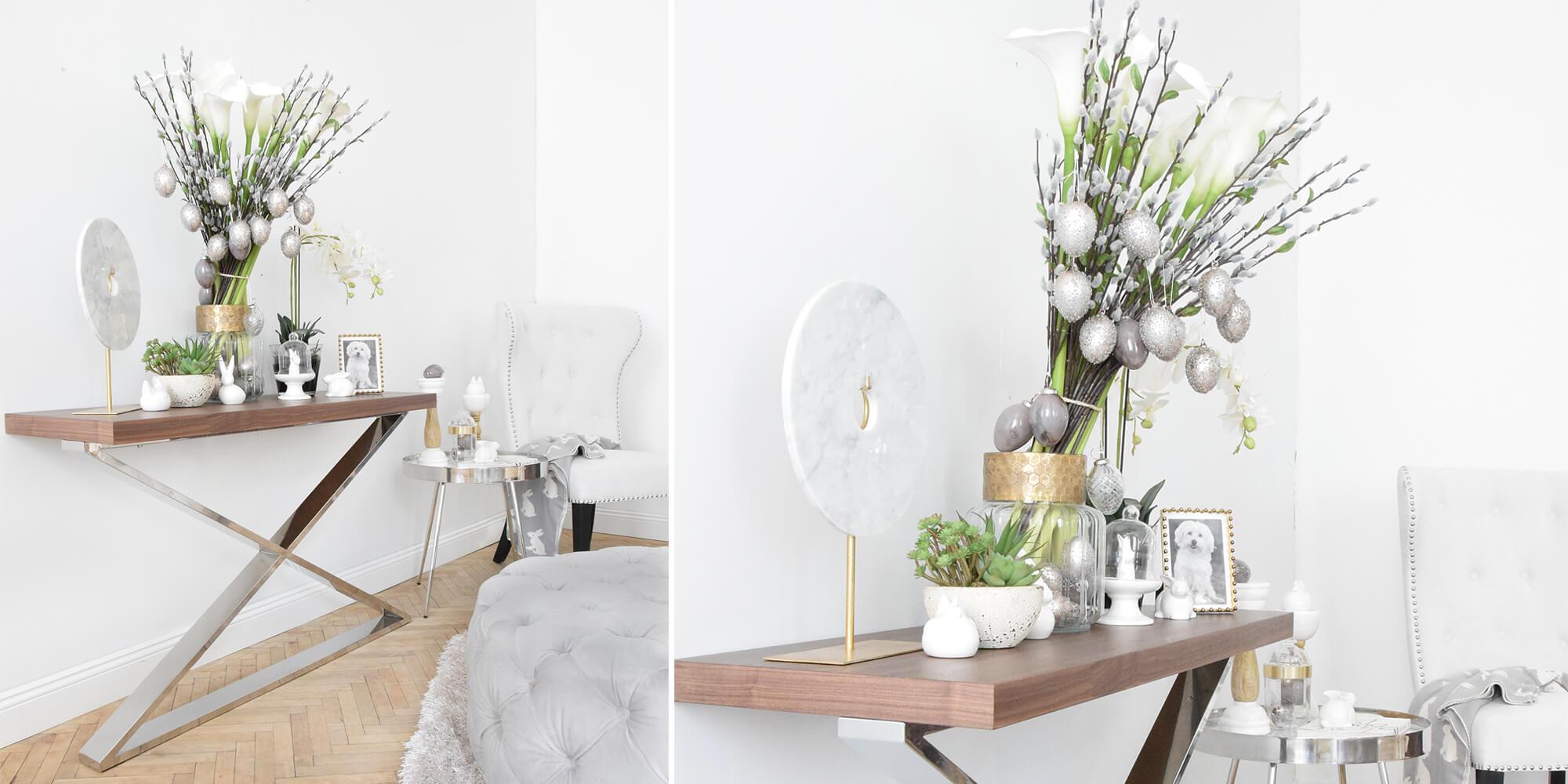 Oster-Style: Moderne Konsole & Osterdeko