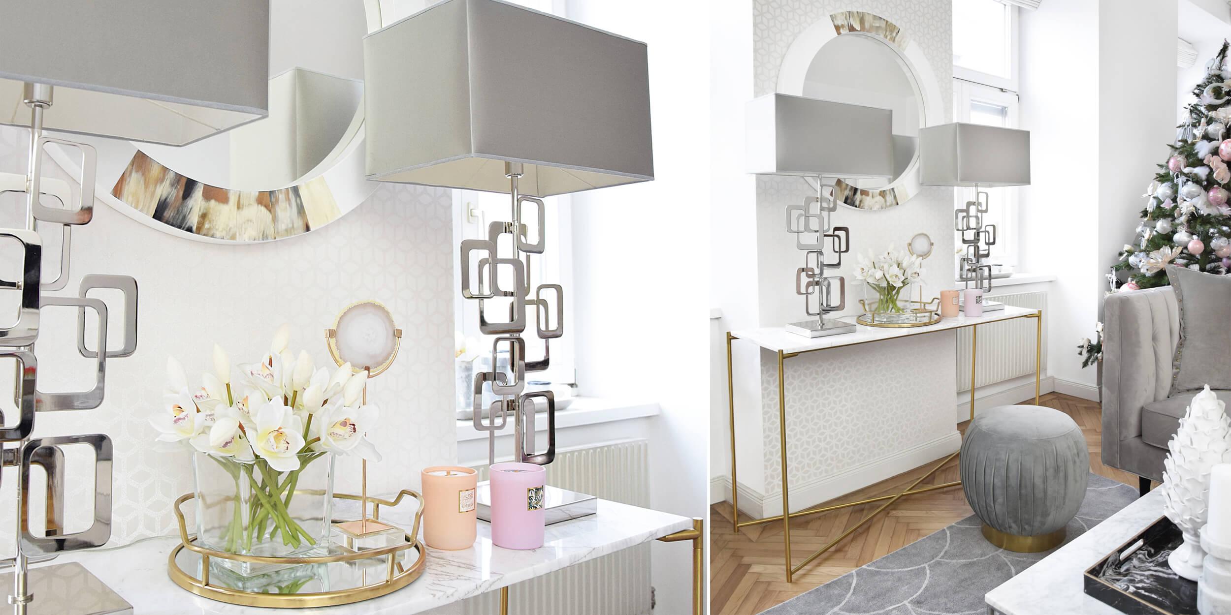 Marmor-Liebe! zarte Konsole fürs Wohnzimmer