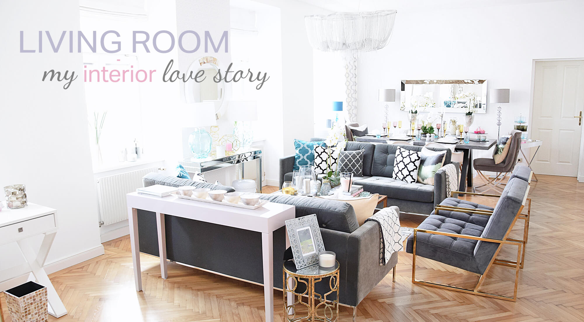 my interior love story living room