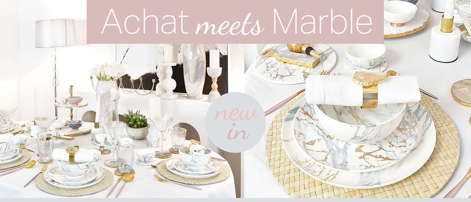 Perfect Match: Achat trifft Marmor