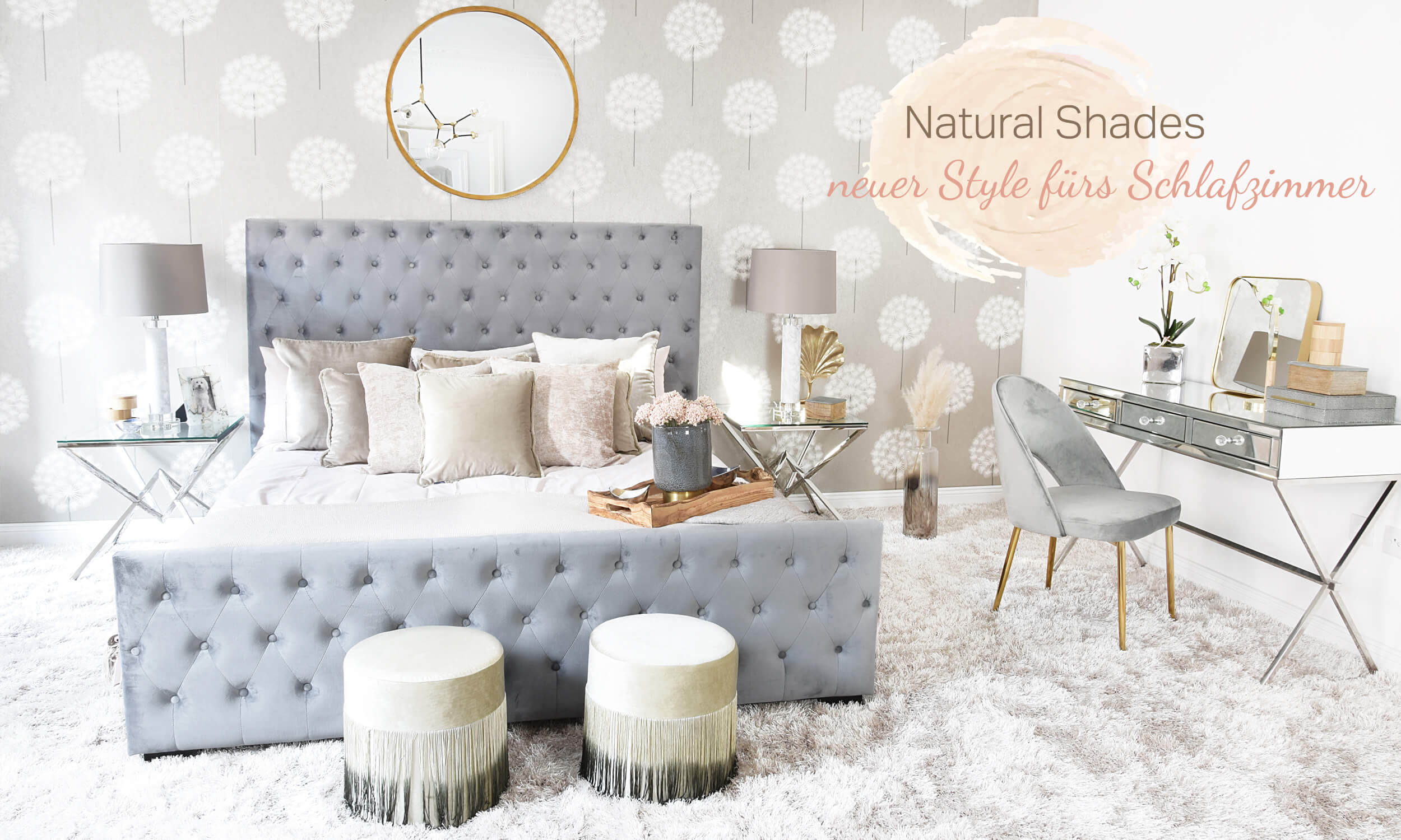 Natural Shades Bedroom - Schlafzimmer in Naturtönen