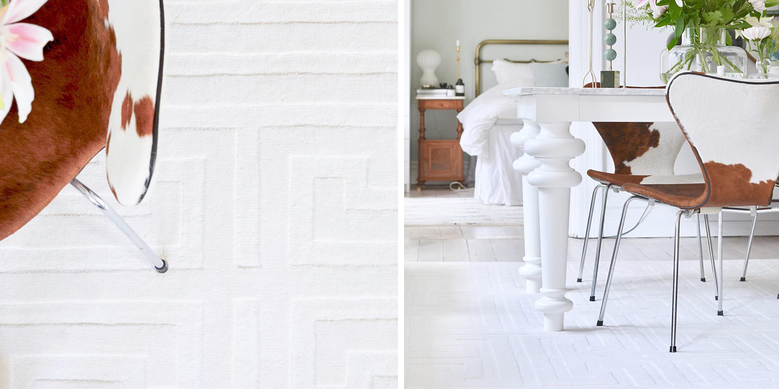 Teppiche mit geometrischem Muster