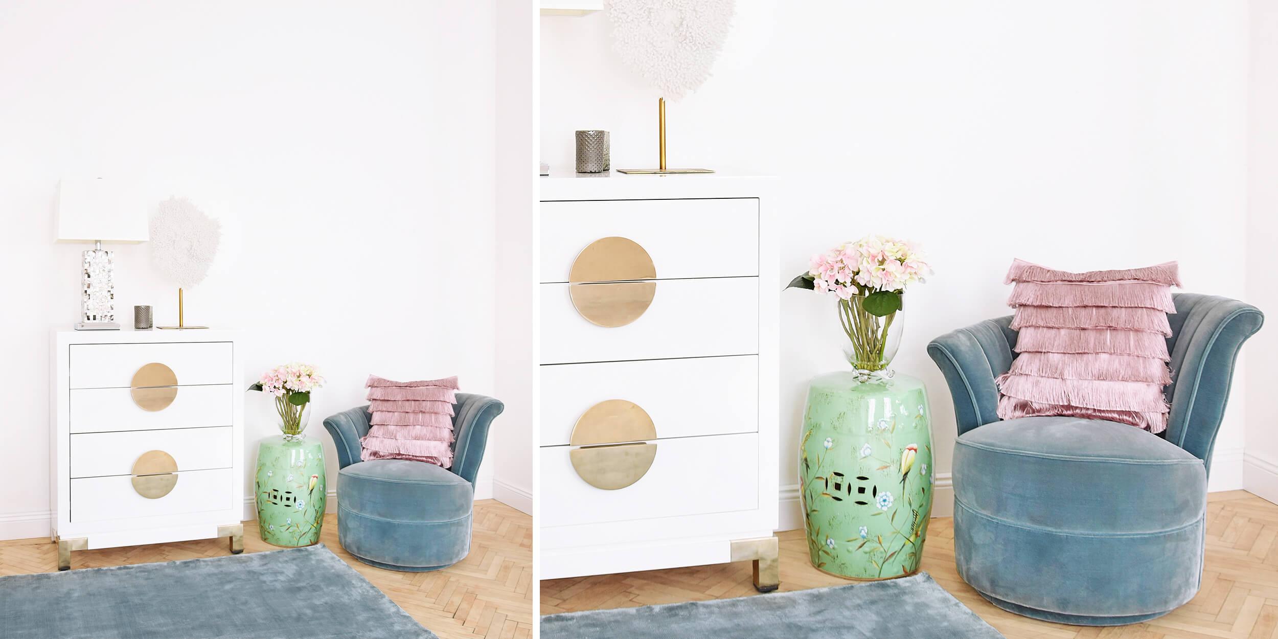türkisblau, Rosa & Weiß: Summervibes für Zuhause