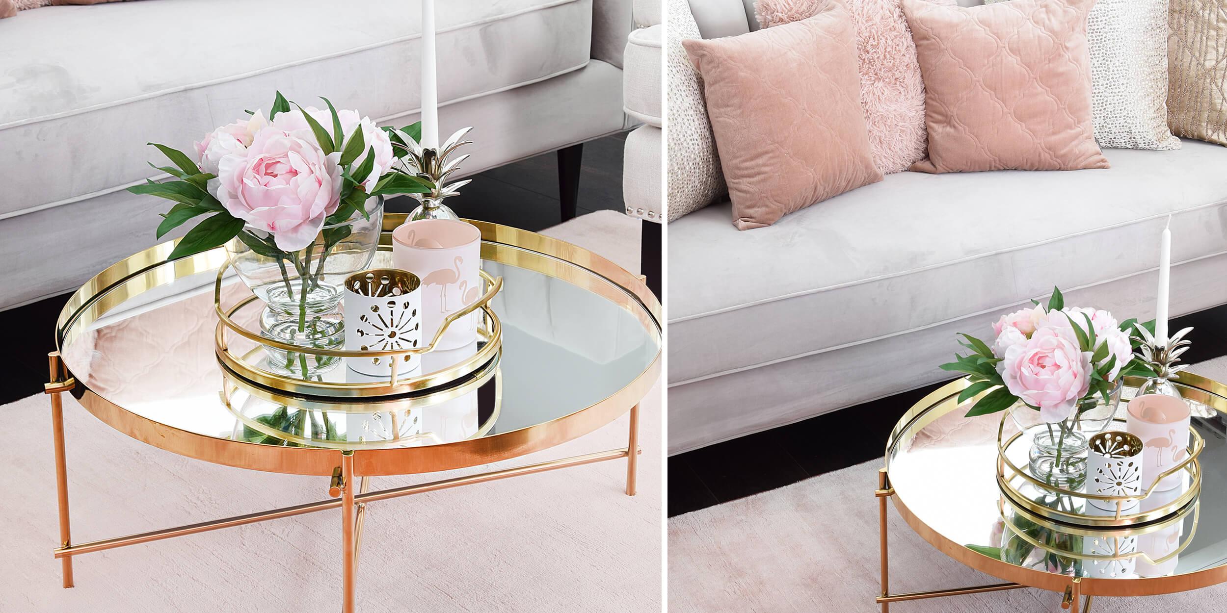 Rosa & Gold - stylishe Farbakzente zum Verlieben :)