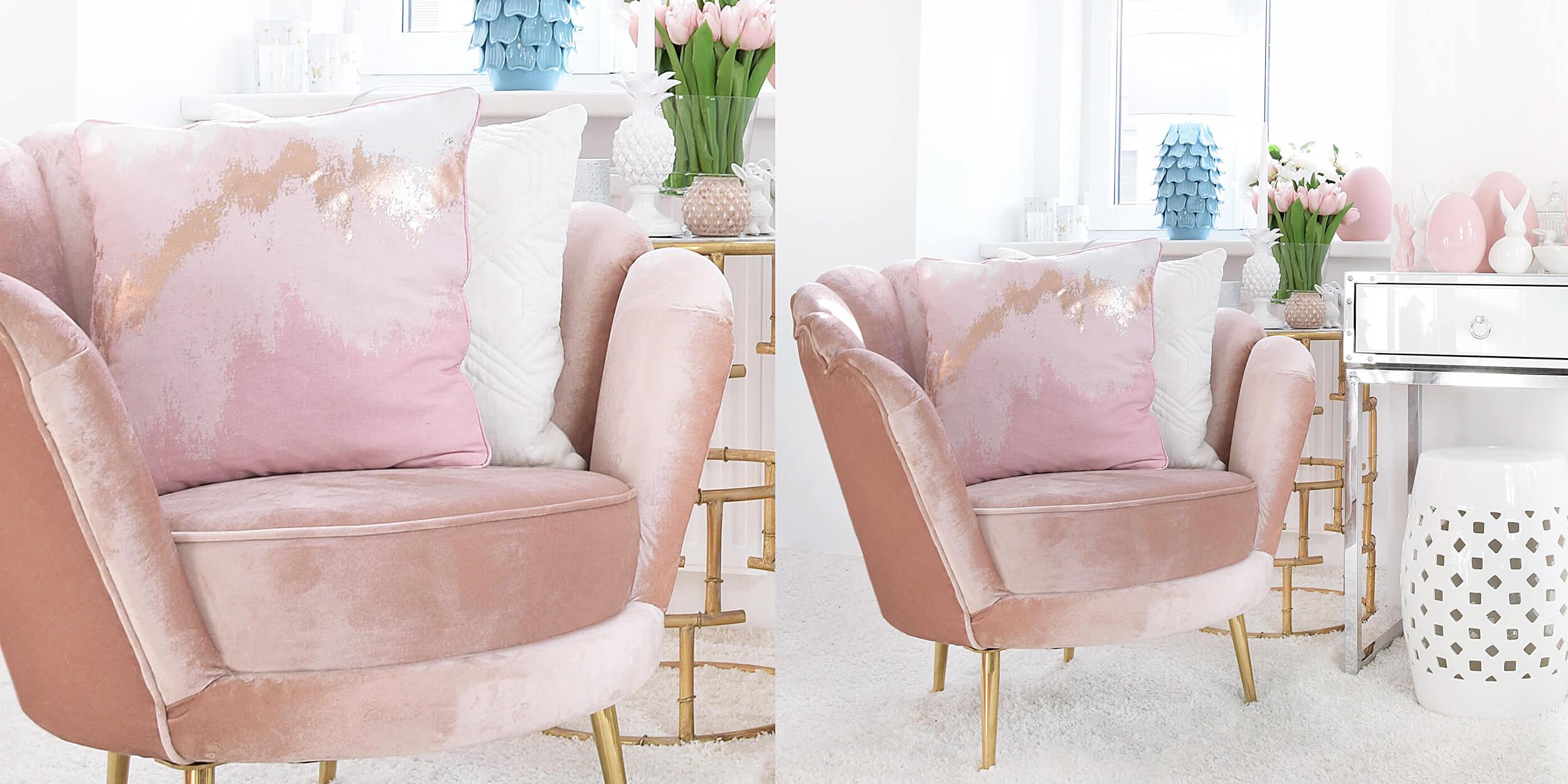 rosa Samstuhl - ein Stückchen Himmel :)