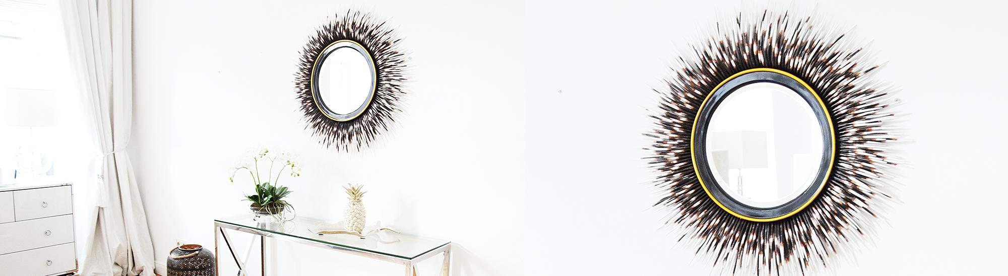 runde Wandspiegel