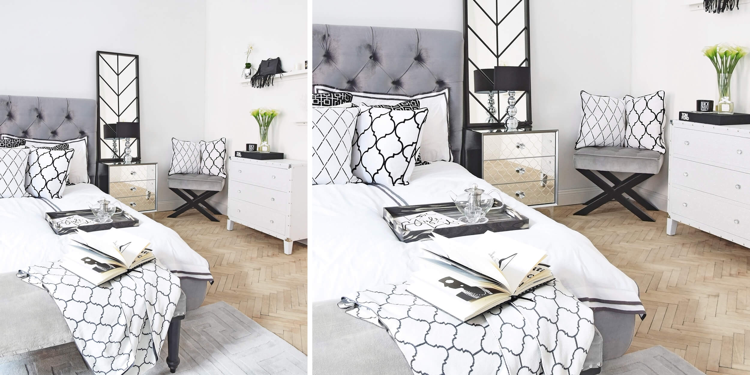 Samtbett in Silber - unser All Time Favourite!