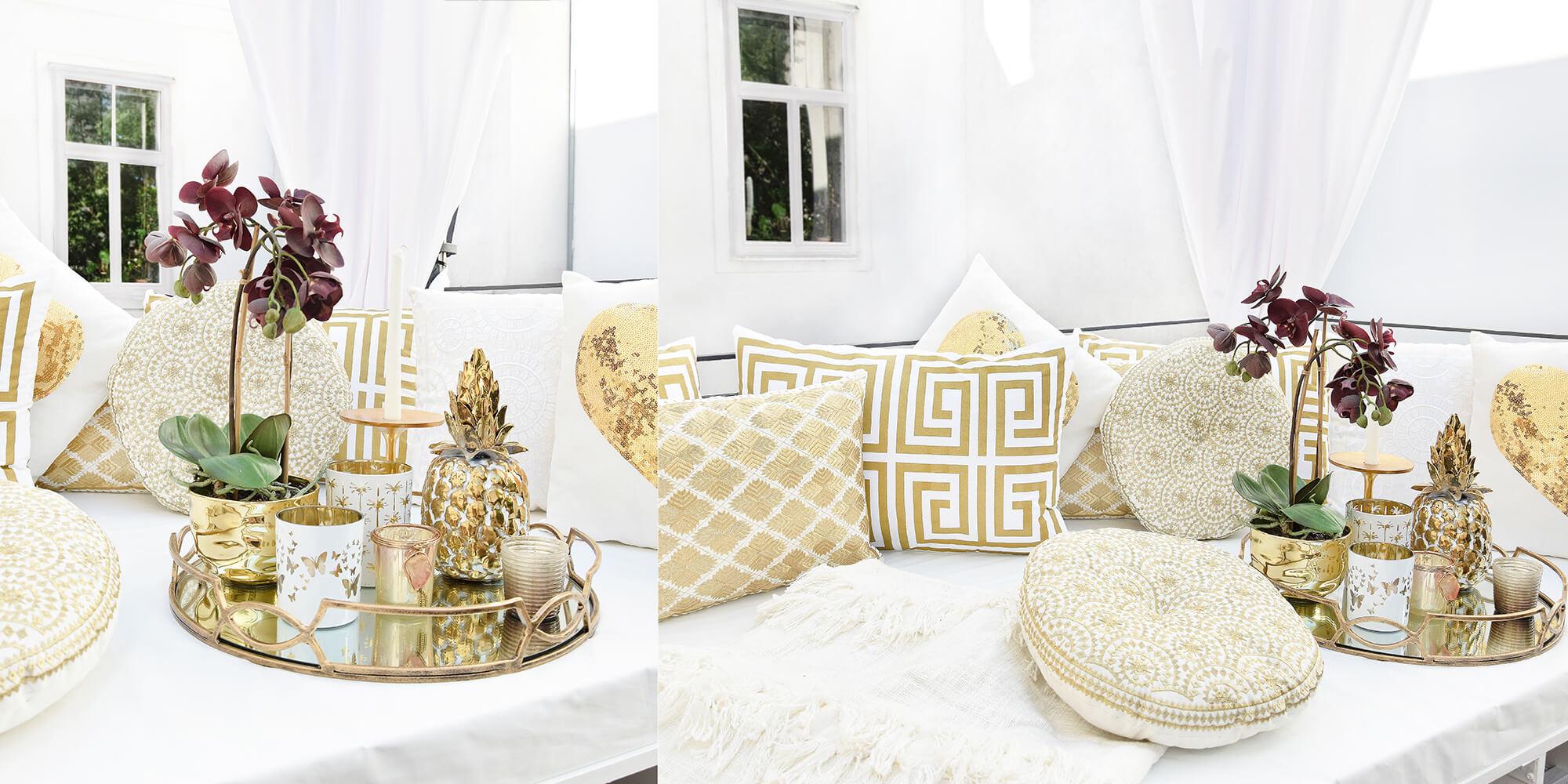 Cozy Corner: kuschelige Kissen für Wohlfühlatmosphäre