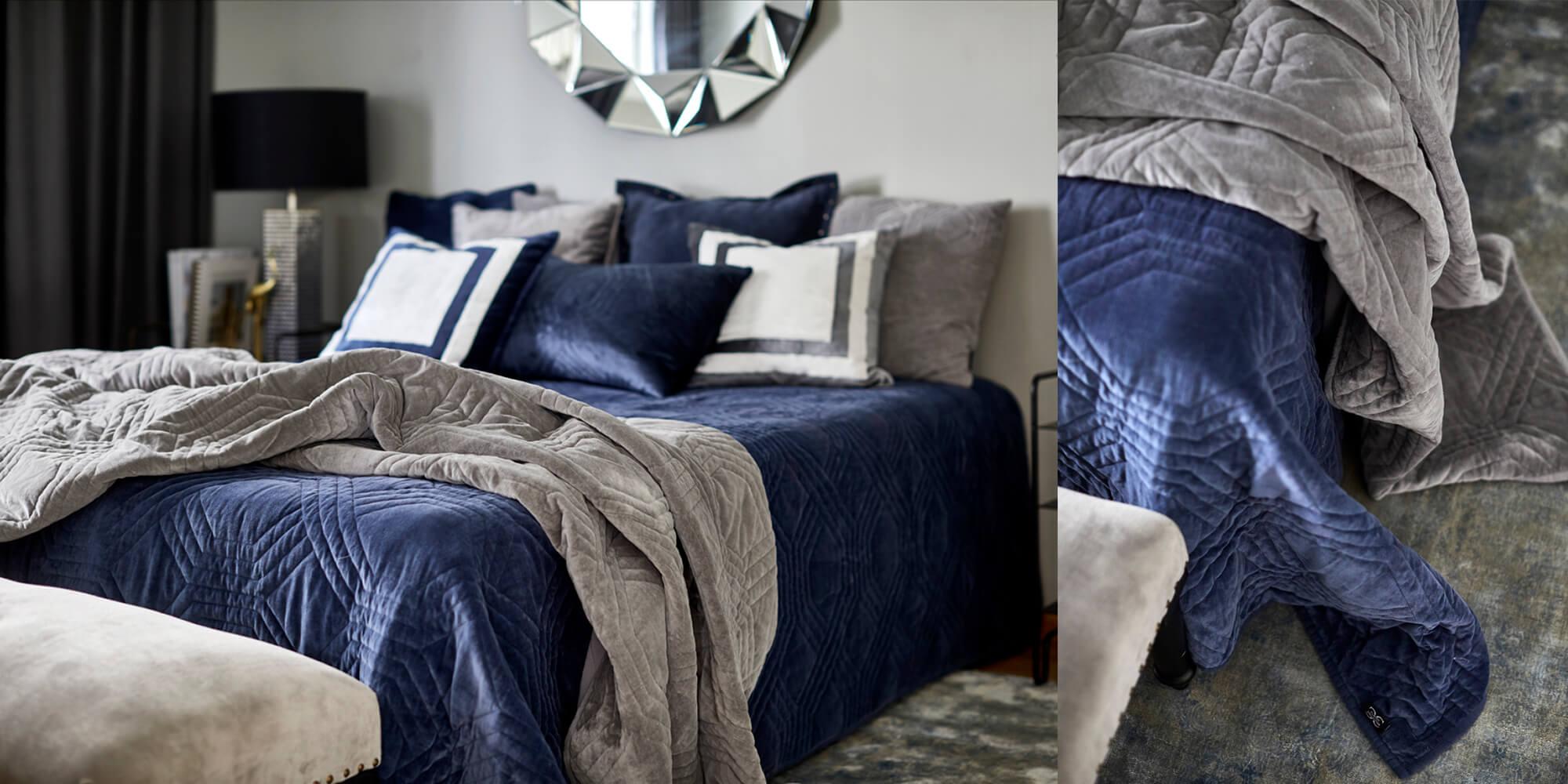 Trendfarbe Blau im Schlafbereich