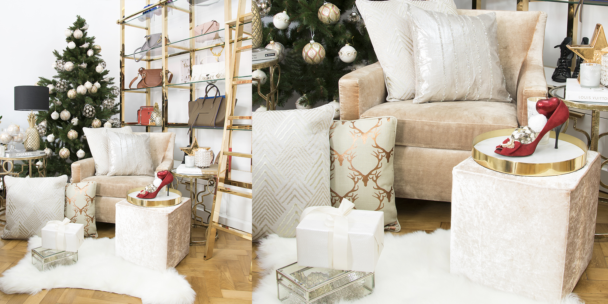 Nikolaus-Advent-Suche mit Saskias Kissen