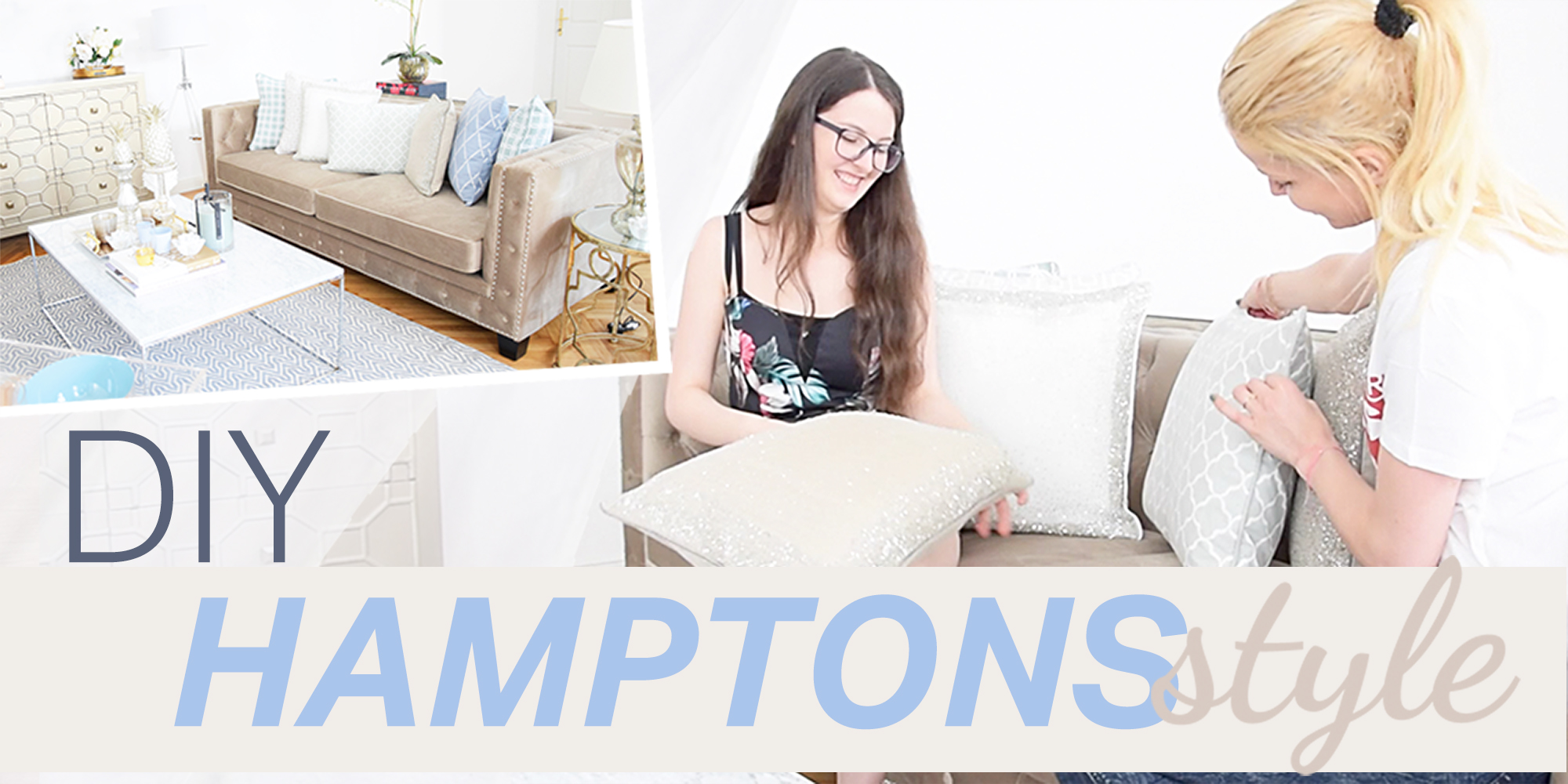 Neues Video online: DIY zum Hamptons style living room