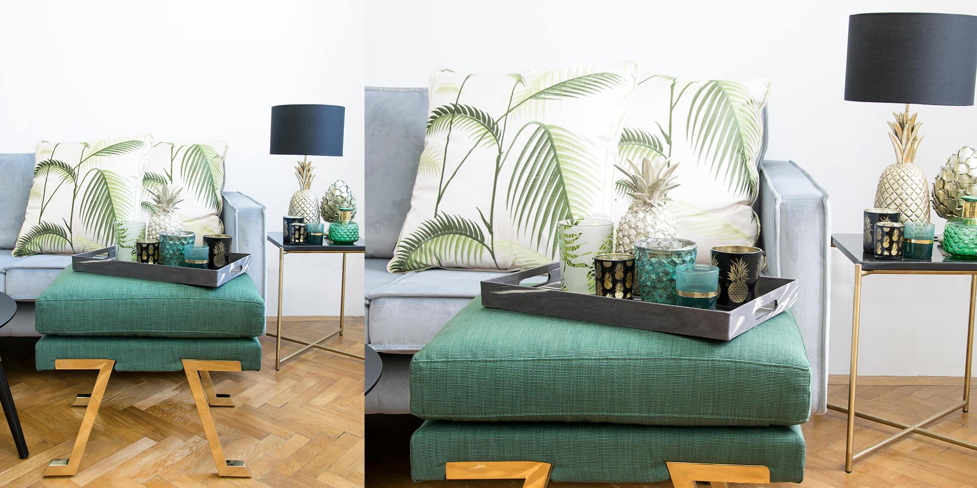 Green-Addict: Botanische Akzente im Wohnzimmer
