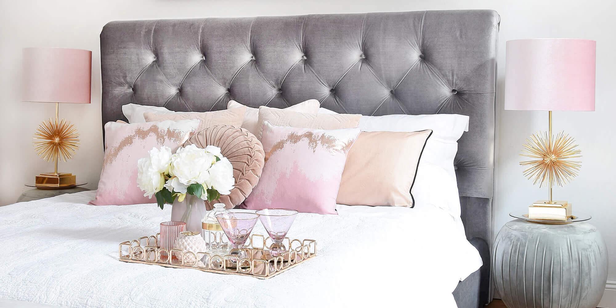 Soft Blush Bedroom-Details