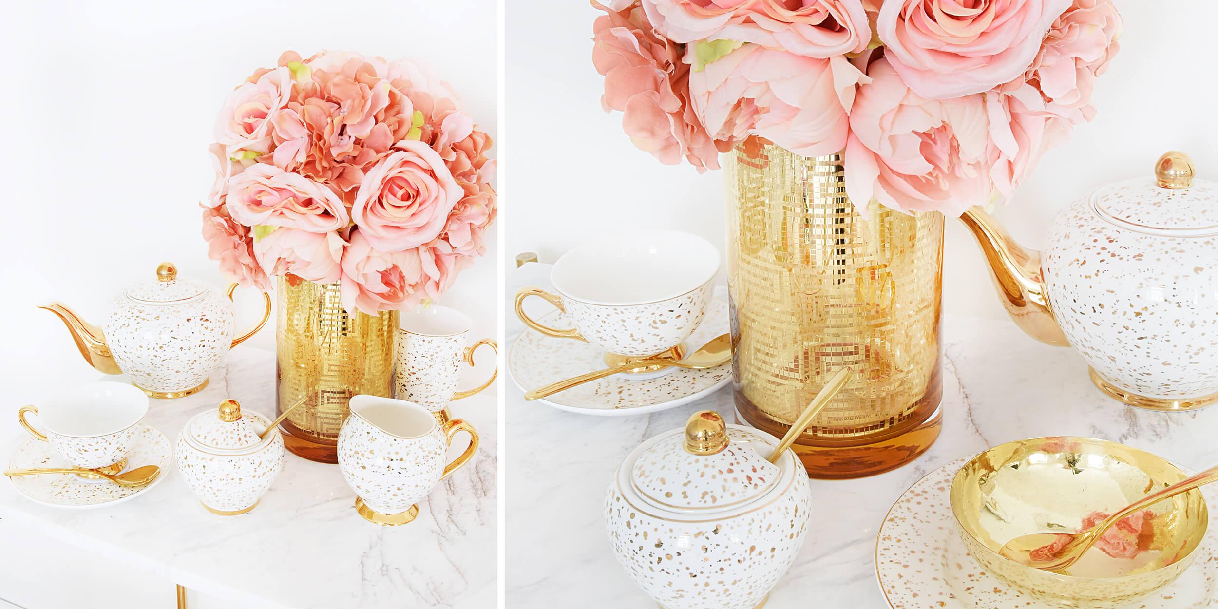 Tea Time mit Frühlingsflair