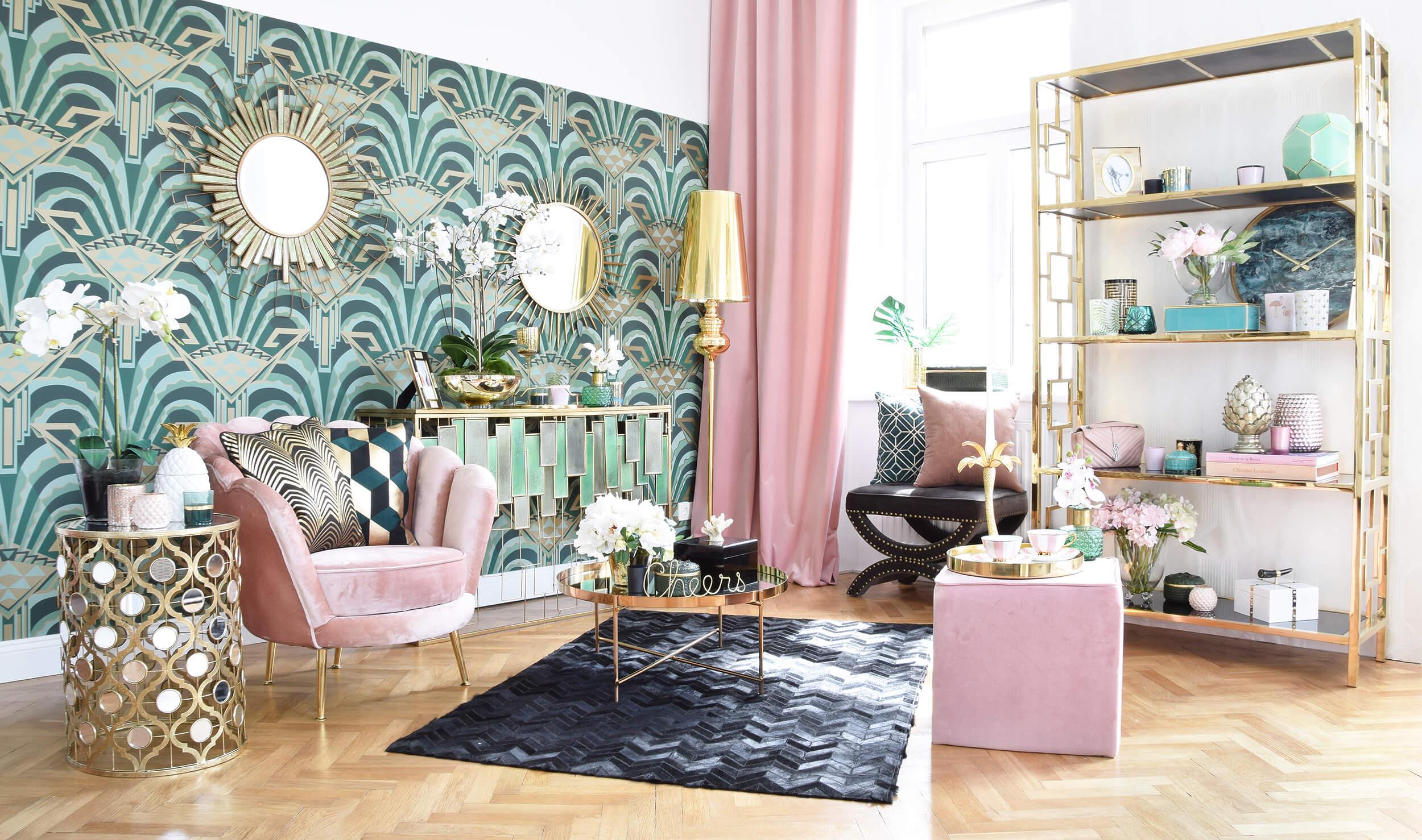 Beverly Hills Hotel-Lounge Wohnzimmer